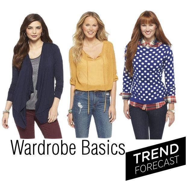 Womens wardrobe fashion basics