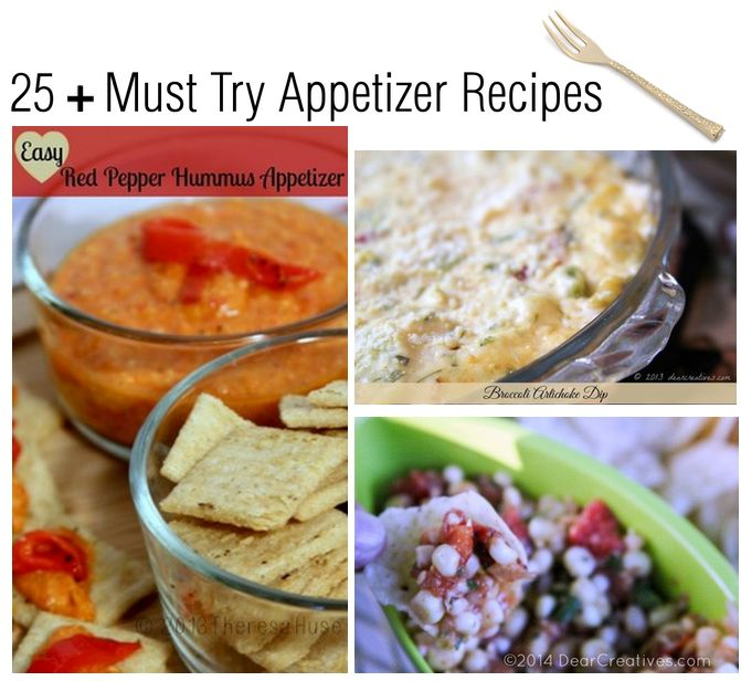 25 must try appetizer recipes_ appetizers