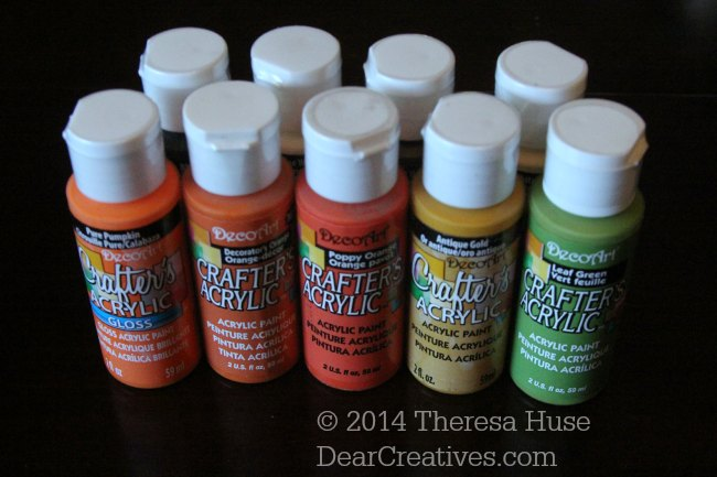 Acrylic paint_crafters acrylic gloss_