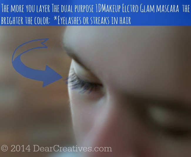 Blue Mascara_Electro Glam Mascara _1DMakeup_