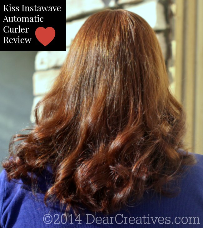 Kiss InstaWave Automatic Curler Review_© 2014 DearCreatives.com