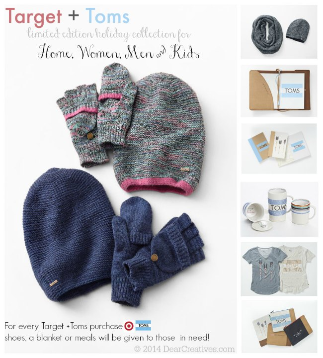 Target + Toms Limited Edition Holiday Collection Gift Ideas That ...