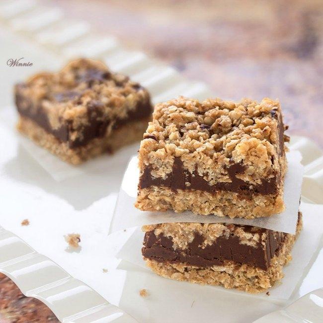 No bake peanut butter oat bars