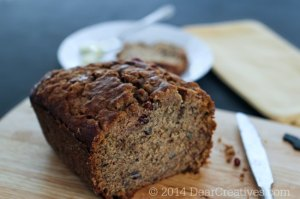 Rustic Banana Bread Recipe