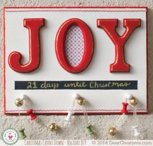 Holiday_Christmas Chalky Finish Plaque DIY/Crafts