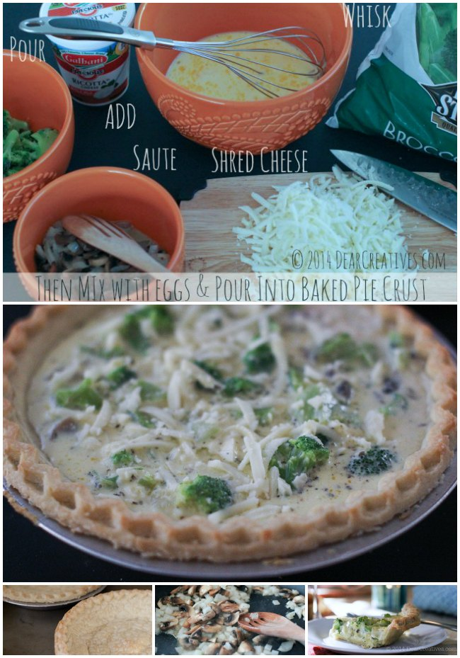 How to make quiche_step to making quiche_© 2014 DearCreatives.com