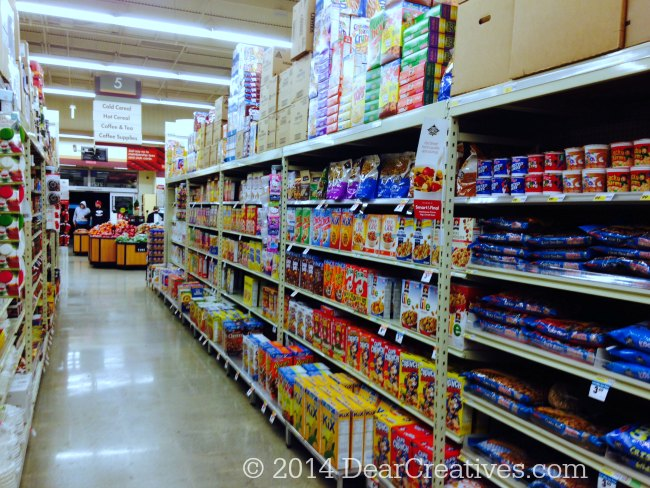 Smart Final Paso Robles CA Cereal Isle_© 2014 DearCreatives.com