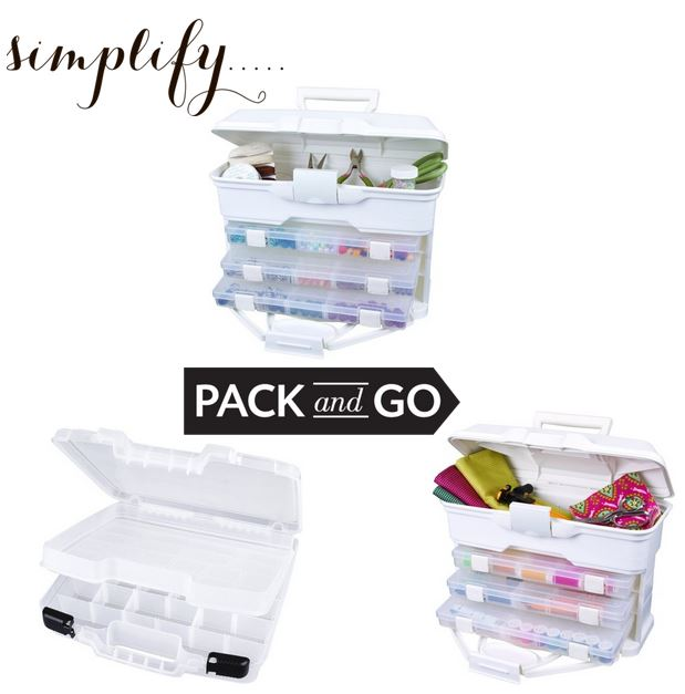 Craft and Sewing Organizing Bins