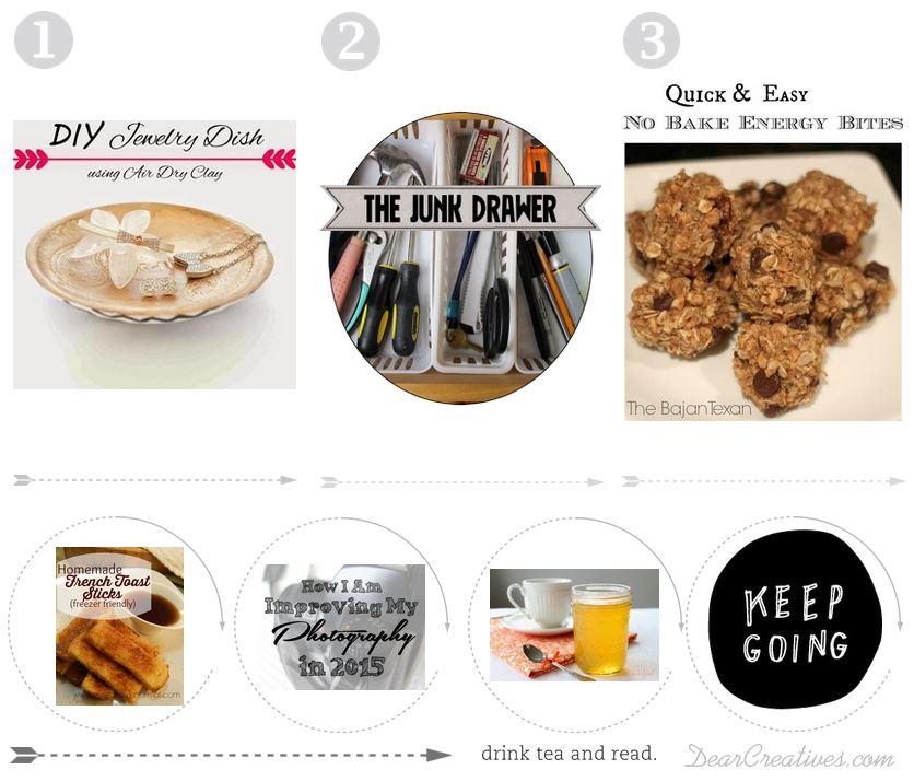 Inspiration Spotlight Party #Linkup 128 Crafts DIY Decor Recipes