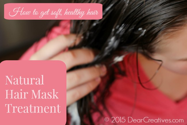 How to get soft healthy hair_Natural Hair Mask Treatment_
