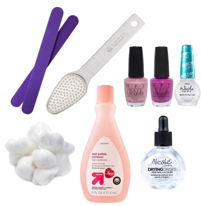 Manicure supplies_nail polishes and nail supplies