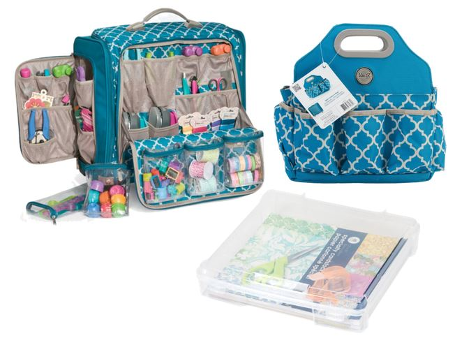 Scrapbook Crafting Storage and tools