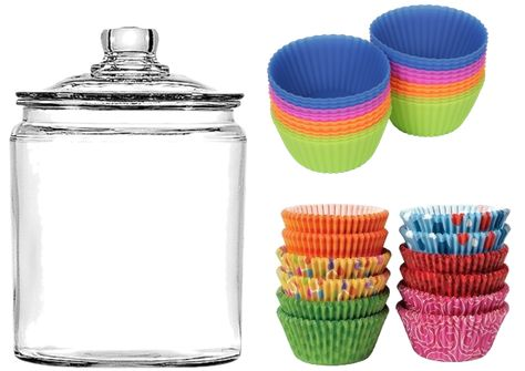 home organization pantry tips to maximize your space jar and cupcake liners