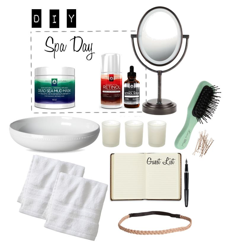 DIY At Home Spa Day Party