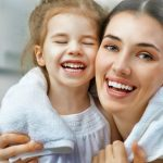 Lifestyle; Beauty  At home spa day  mom and daughter with towel  beauty tips