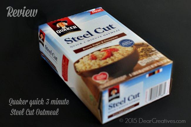 Quaker Steel Cuts Oatmeal Review - Quick 3 minute Oatmeal