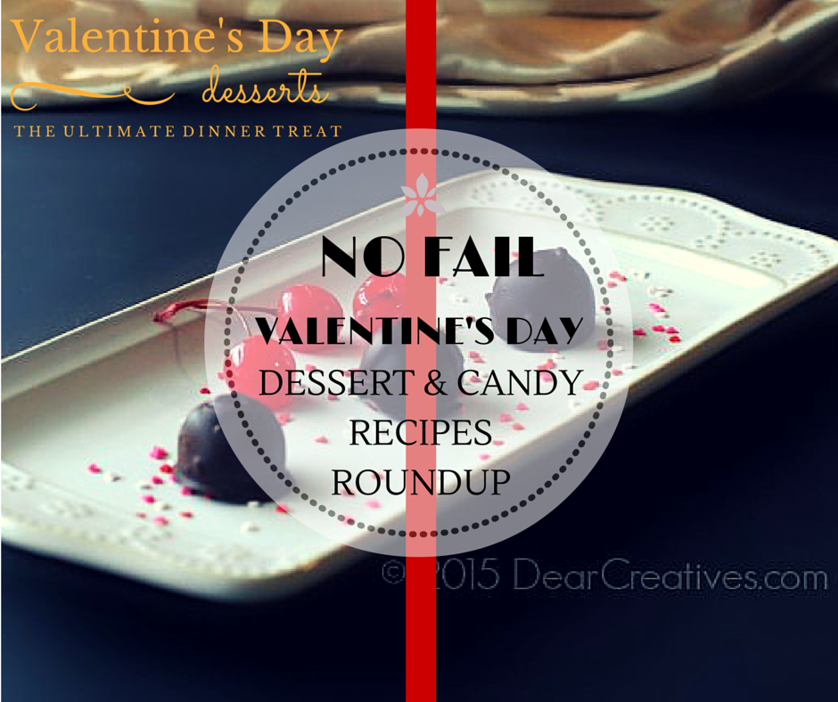 Easy No Fail Valentine's Day Dessert And Treat #Recipes