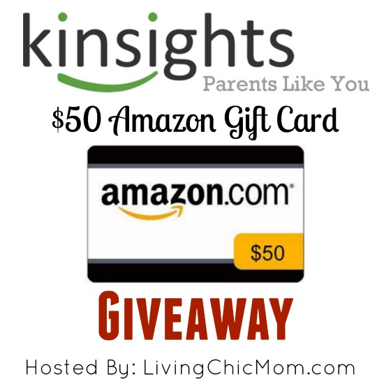 Kinsights Community: Amazon Gift Card Giveaway! $50!