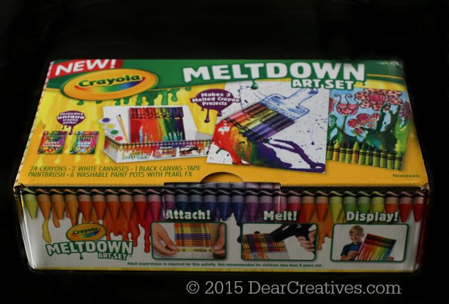 Crayola Crayon Meltdown Art Set