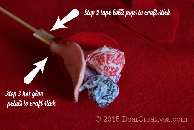 DIY Craft Project | Steps 2 and 3 for the Dum Dums Flower Lollipops