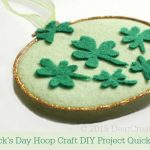 Crafts Spring | DIY Crafts Project St. Patricks Day Hoop Craft Project