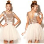 Fashion Trends Daily  Fashions -Trixxi Sequin Tulle Dress