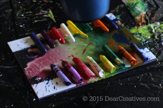 Spring Crafts for Kids | Crayola Meltdown Art Set