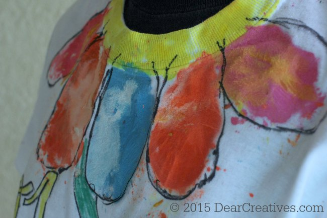 Fashion Design| Melted Crayon Fashion Project