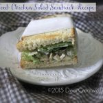 recipes picnic food |Picnic Recipe Food |Chicken Salad Sandwich Recipe on a plate