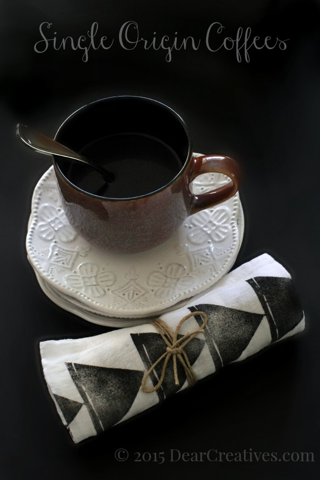 Coffee Lifestyle | Coffee cup on a plate next to a cloth