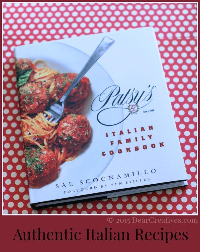 Italian Cookbook | Patsy's Italian Family cookbook