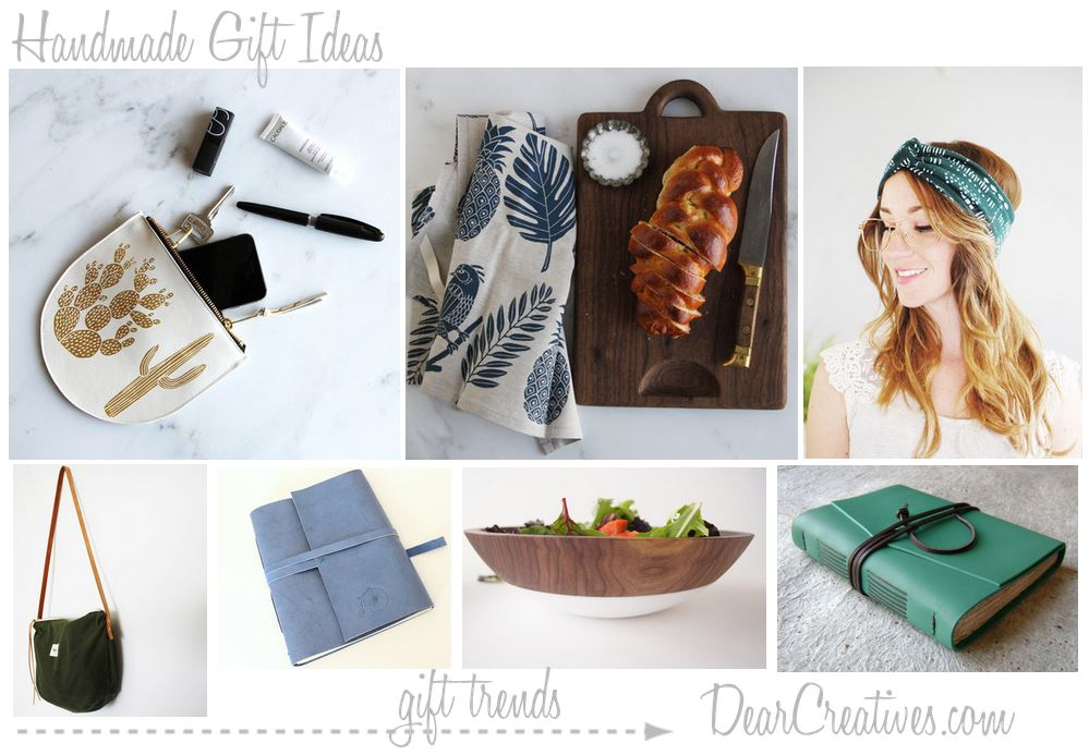 Handmade Gift Ideas for Her Simple, Useful, Pretty
