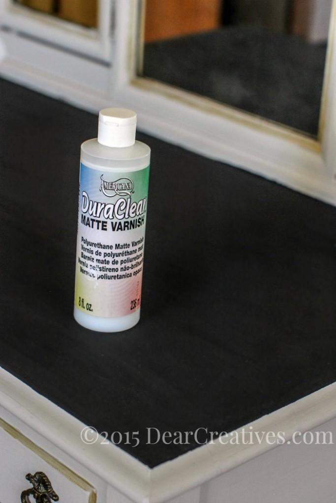 Home Decor Ideas DIY   Matte Varnish ready to finish vanity