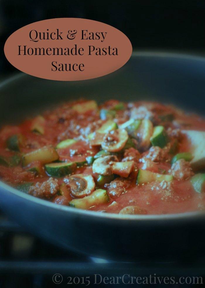 Quick Spaghetti Sauce Recipe — Dishmaps