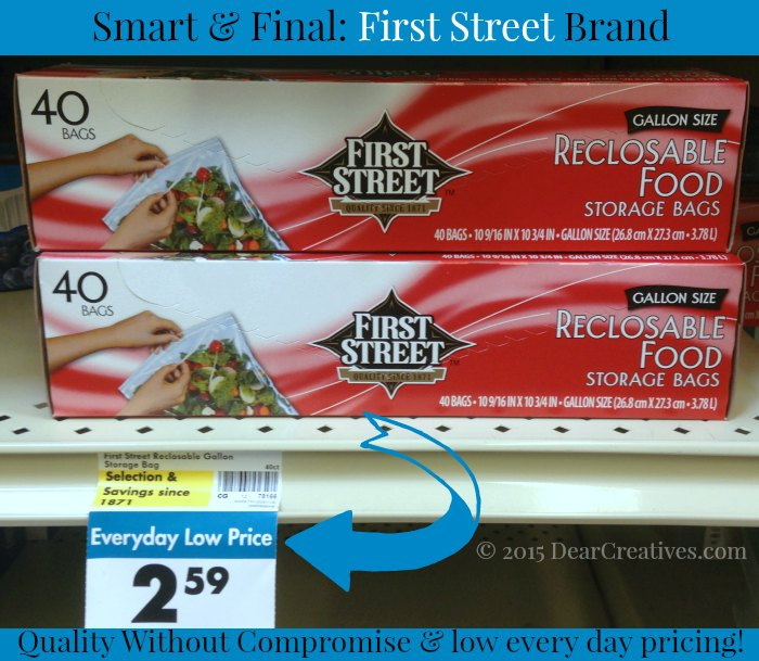 Grilled Recipe | Smart and Final  storage bags  First Street Brand | #ad