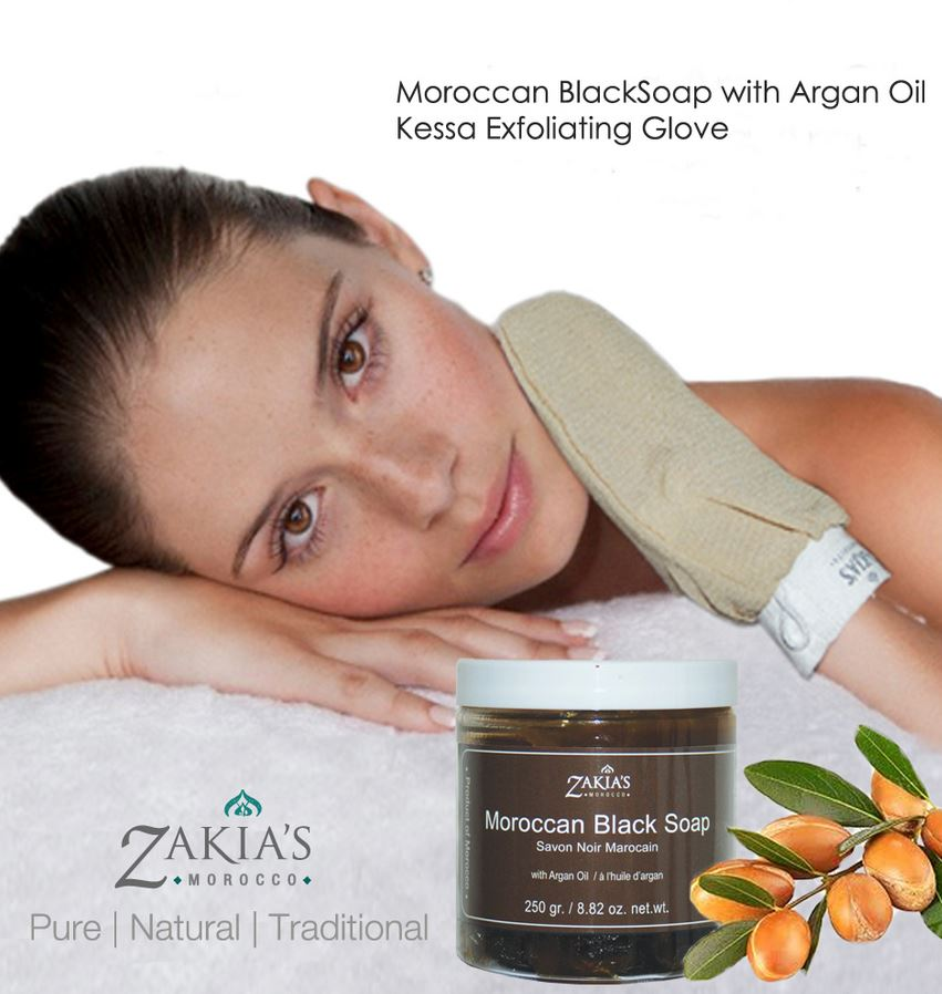 Beauty Review | Zakia's Moroccan Black Soap