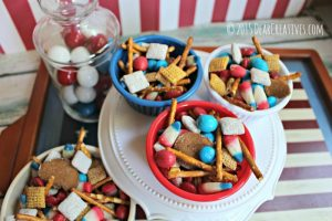 July 4th Treats Recipe | Red, White, Blue Dessert  Treat Recipe