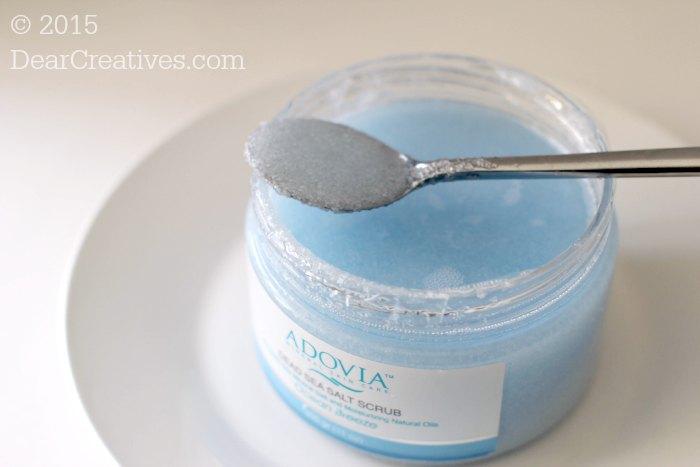 Beauty Review|Adovia Dead Sea Salt Scrub