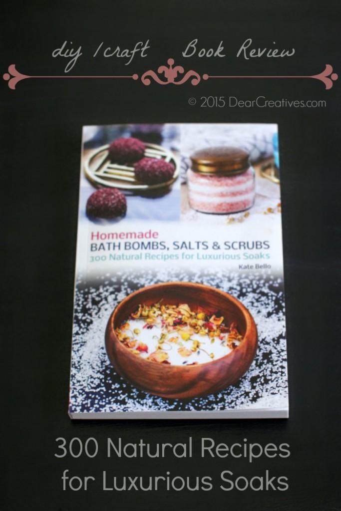 Book Review Homemade Bath Bombs Salts & Scrubs