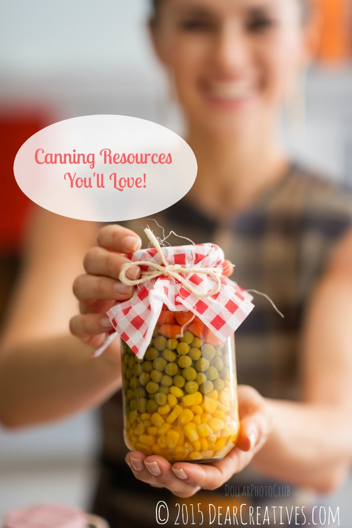 Canning Books: Canning Recourse's You'll Love! & Recipe