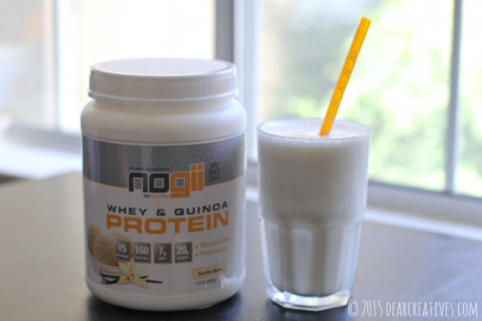 Review Giveaway product review  Gluten Free Nogii Gluten Free whey and quinoa protein drink