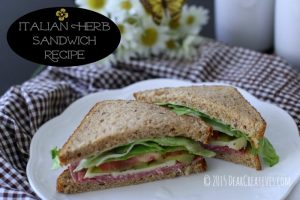 Italian Herb Sandwich Recipe