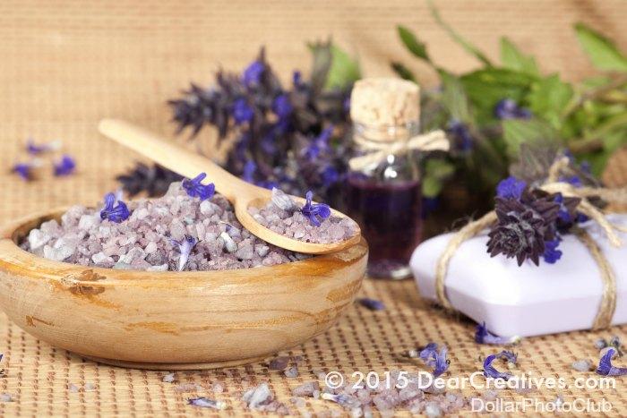 Craft Book Reviews  Sea Salt and Essential Oils