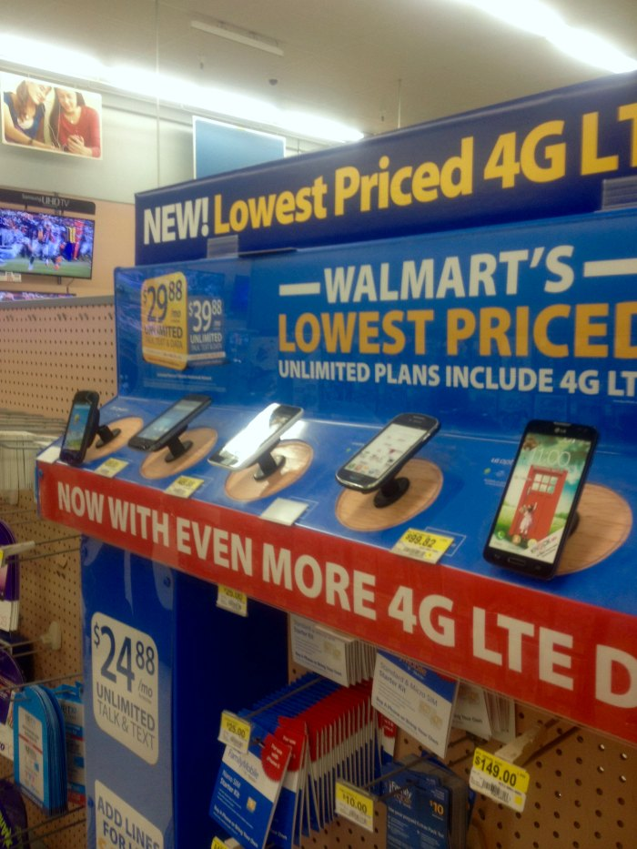 Walmart Family Mobile in store photo
