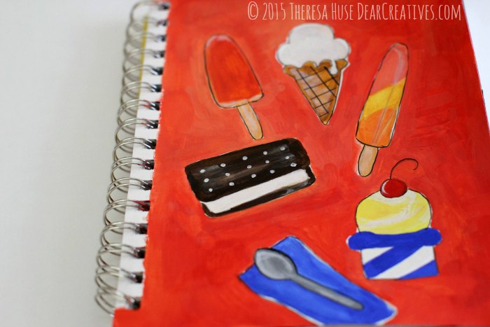 ice cream illustrations © 2015 Theresa Huse