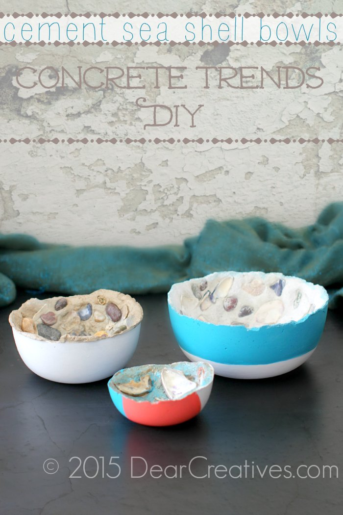 Concrete Trends Elegant Home Decor Cement Bowls DIY