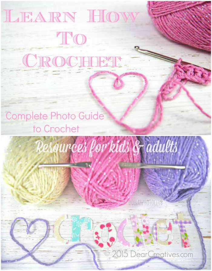 Craft Crochet  | Learn How to Crochet | Crochet Resources