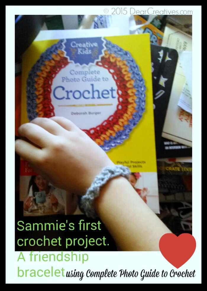 Craft Crochet |Crochet Friendship Bracelet