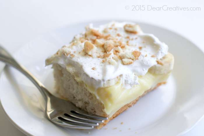 Easy Banana Pudding Ice Box Cake