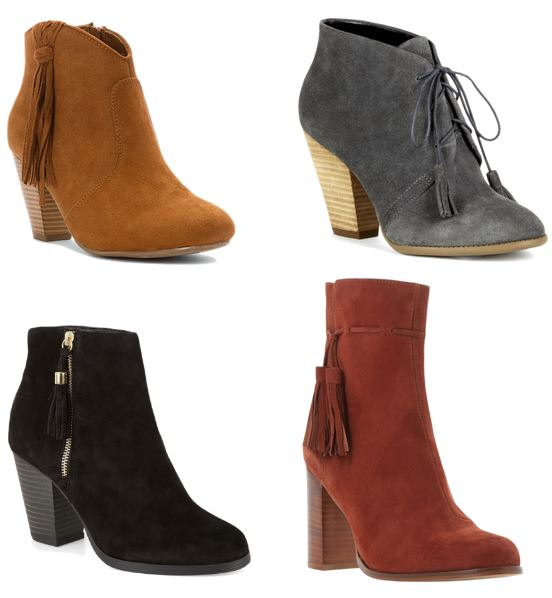 Fall Fashions Boots with Tassels